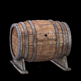 30 Liter Fass gefüllt mit SaarWhisky Spirit